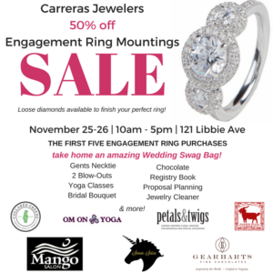 Black Friday Engagement Ring Sale