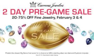 Carreras Jewelers Pre-Game Sale