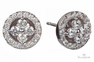Peter Storm Diamond Earrings