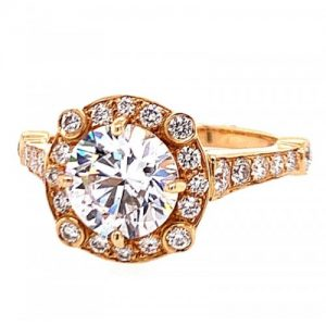 GUMUCHIAN 18KT ROSE GOLD DIAMOND
