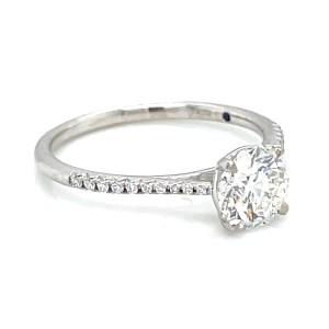 14kt White Gold 1.02 Carat Diamond Engagement Ring
