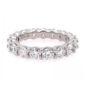 Fana Platinum Diamond Eternity Band Ring