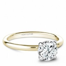 Noam Carver 14kt Yellow Gold Solitaire Engagement Ring Mounting