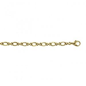 "14kt Yellow Gold 24"" 4.5mm Fancy Twist Link Necklace"