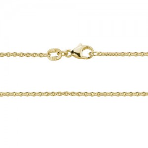 14kt Yellow Gold 1.5mm Cable Link Chain