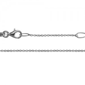 Sterling Silver 1mm Cable  Link Chain