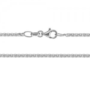 """Sterling Silver 18"""" Wheat Chain"""
