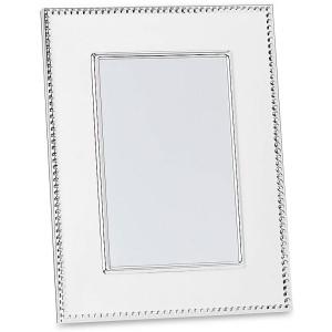 "Silverplate 5"" X 7"" ""Lyndon"" Frame."