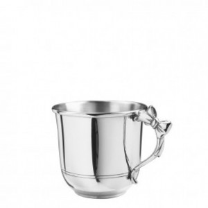 Pewter Bow Handle Baby Cup 5 Oz.