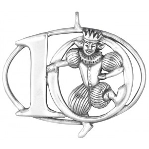 """Sterling Silver """"Ten Lords A-Leaping""""  Holiday Ornament"""