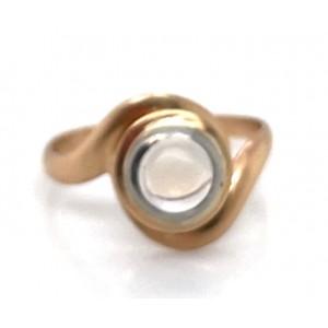 Estate 10kt Yellow Gold Moonstone Ring